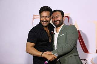 Ajay Devgn and Saif Ali Khan papped at Tanhaji: The Unsung Warrior's trailer launch!