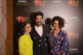 Celebrities at the screening of Hotstar Specials presents Out of Love!