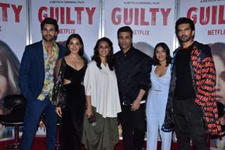 "Celebs at the Trailer Launch of ""Guilty"""