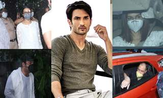 Sushant Singh Rajput's Funeral Pictures: Friends and Family arrive for last rites ceremony!