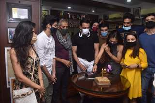 Inside: Aashram 2 success party