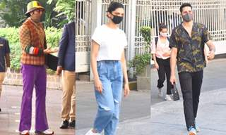 Ranveer Singh, Deepika Padukone and Siddhant Chaturvedi snapped at Gateway of India