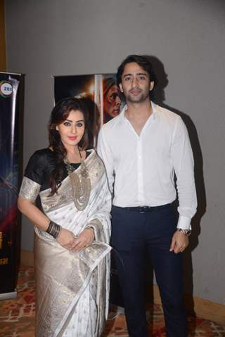 Shilpa Shinde and Shaheer Shaikh at the promotions of Paurashpur!