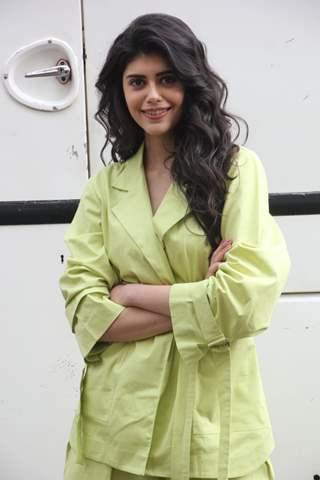 Sanjana Sanghi snapped at the sets of Indian Idol