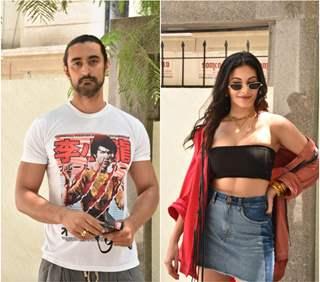 Kunal Kapoor and Amyra Dastur at 'Koi Jane Na' promotions