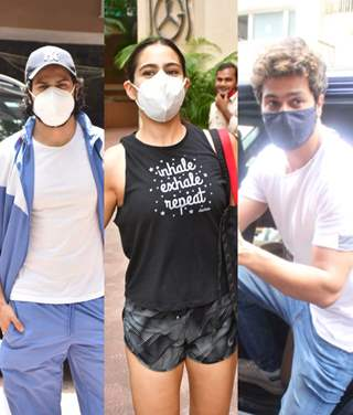 Varun, Sara, and Vicky and other Bollywood celebrities snapped around the town!