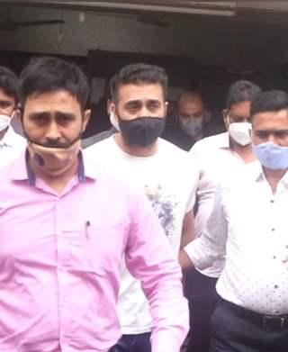 Raj Kundra snapped at Byculla Jail
