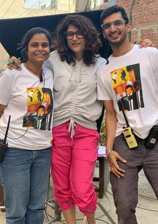 Tahira Kashyap Khurrana shares BTS pictures from the sets of her latest short film 'Quaranteen Crush'