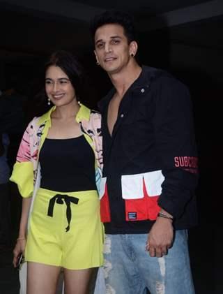 Yuvika Chaudhary celebrates her birthday with hubby Prince Narula