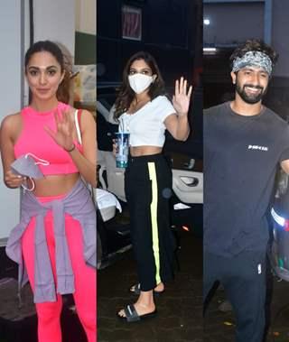 Kiara Advani, Bhumi Pednekar and Vicky Kaushal snapped at Mehboob Studio
