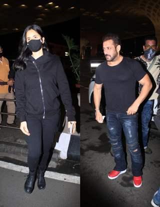 Salman Khan and Katrina Kaif jet off to Russia for Tiger 3 Shoot