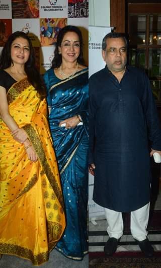 Hema Malini, Paresh Rawal, Bhagyashree and other celebrities at an event in Mumbai!