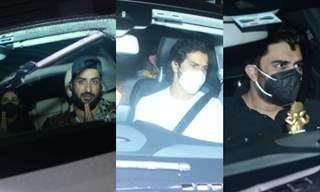 Varun Dhawan, Maniesh Paul, Aly Goni and other celebrities at Sidharth Shukla's residence in Mumbai
