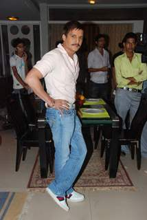Jimmy Shergill on the sets of Sony's Aahat  Malad