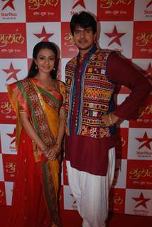 Mansi Parekh & Rahil Azham at the premiere of Star Plus Gulaal