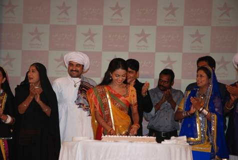 The entire star cast of Star Plus Gulaal at the premier at Taj lands end