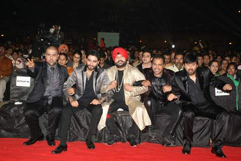 Celebs at SA RE GA MA PA finals at Andheri Sports Complex. .