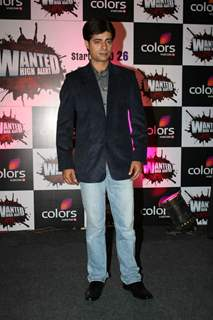 Sushant Singh at the Colors Wanted High Alert Show Press Conference at Novotel. .