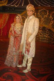 Ratan Rajput gets engaged to Abhinav Sharma on Imagine TV reality show Ratan Ka Rishta at Tulip Star