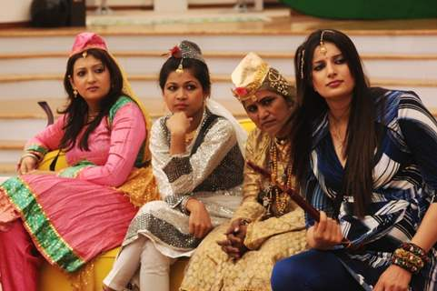 Juhi, Nihita, Sonika in Bigg Boss Season 5