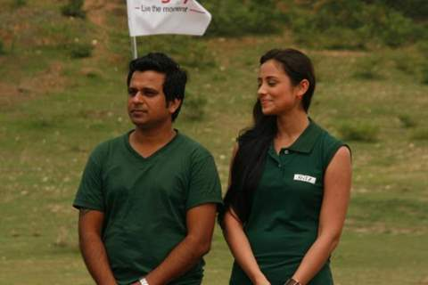 Anupriya Kapoor with his partner in Ritz JeeLe Ye Pal