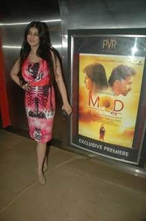 Ayesha Takia at Mod film premiere at Cinemax