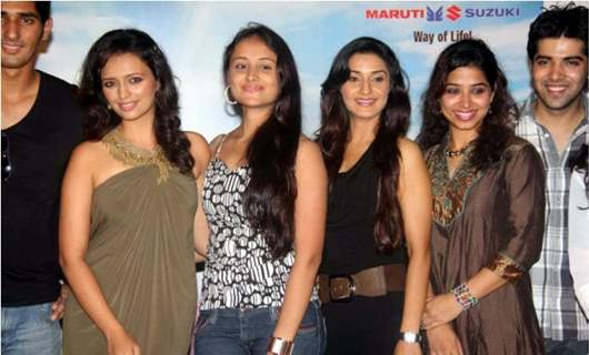 Anupriya with other cast in launch of show Ritz JeeLe Ye Pal