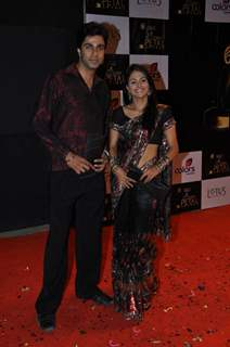 Red Carpet of Golden Petal Awards By Colors in Filmcity, Mumbai