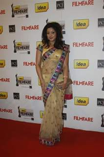 Tanushree Dutta at 57th Idea Filmfare Awards 2011