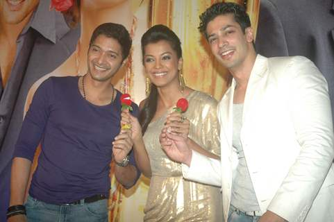 Mugdha Godse, Shreyas Talpade at Music launch of film 'Will You Marry Me?'