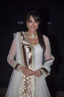 Jiah Khan at Max Stardust Awards 2012 at Bhavans College Grounds in Mumbai