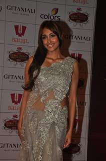 Jiah Khan at Global Indian Film & TV Honours Awards 2012