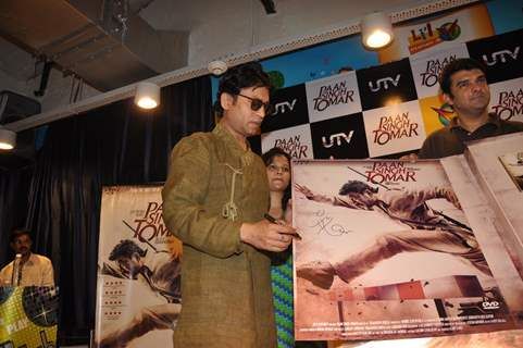 Irrfan Khan At Paan Singh Tomar DVD Launch