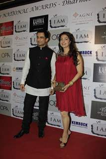 Sanjay Suri and Juhi Chawla at 'I Am' National Award winning bash