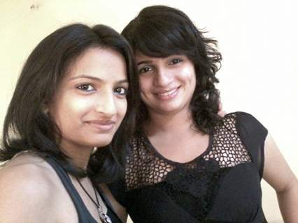 Vinti Idnani with co-star Priyanka Soni