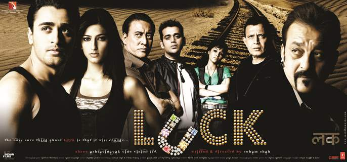 Poster of Luck movie