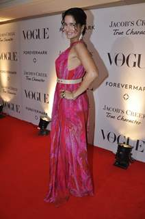Bollywood actress Sushma Reddy during the Vogue India's 5th anniversary bash at Trident in Mumbai.