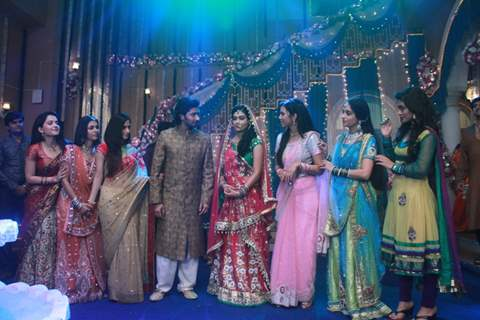 Sangeet ceremony of Mohan and Megha