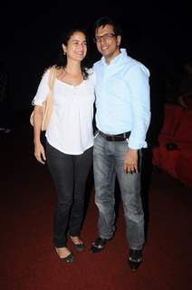 Sushma Reddy and Javed Jaffrey at Day 7 of 14th Mumbai Film Festival