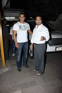 Special Screening for Salman Khan of Life Of Pi