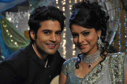 Aamna Shariff and Rajeev khandelwal