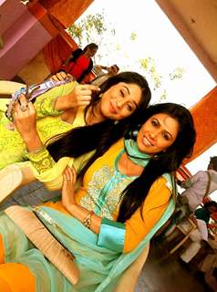 Somya Seth With Sheetal Dabholkar
