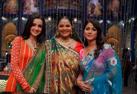 Sanaya Irani ,Hina Khan and  Rupal Patel