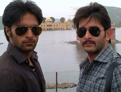 Behzaad Khan and Shaleen Malhotra