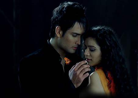 Vivian Dsena and Sukirti Kandpal
