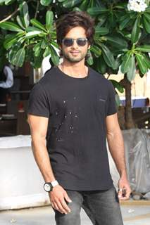 Shahid Kapoor was at the PHATA POSTER NIKLA HERO- press meet