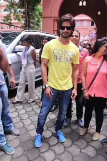 Shahid Kapoor at Kaleidoscope 2013