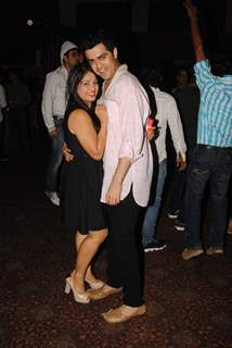 Chandni Bhagwanani and Nishad Vaidya at the 'Mahabharat' Launch Party