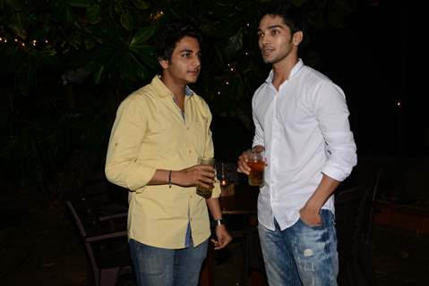 Nirav Soni and Harsh Rajput at Roopal Tyagi's Birthday Party