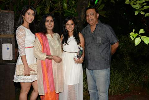 Ankita Bhargava, Kiran Bhargava, Roopal Tyagi and Abhay Bhargava at the Birthday Party